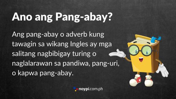Ano ang Pang-abay? Image