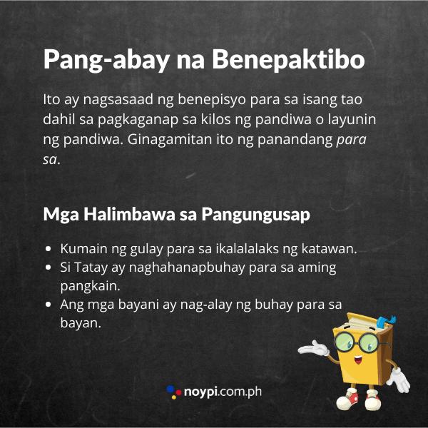 Pang-abay na Benepaktibo Image