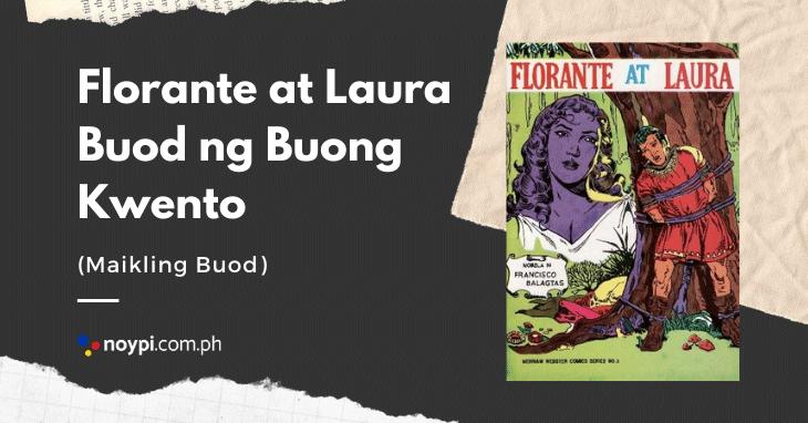 Florante at Laura Buod ng Buong Kwento (Maikling Buod)