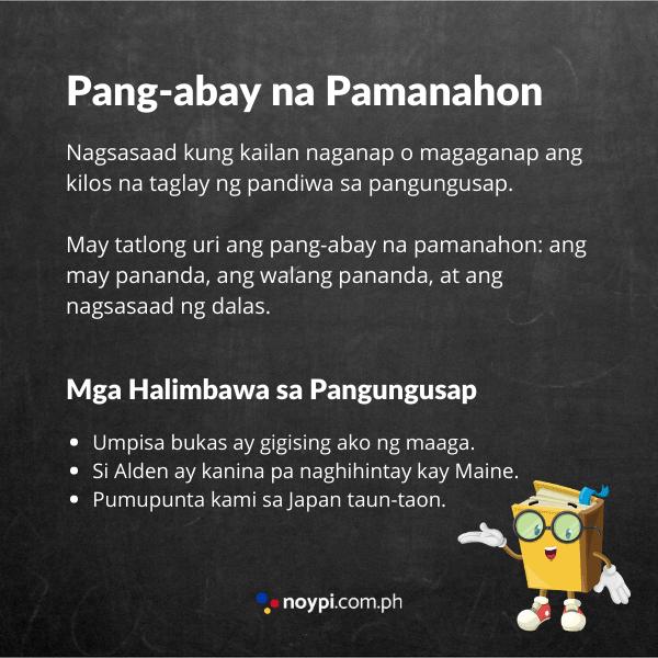 Pang-abay ng Pamanahon Image