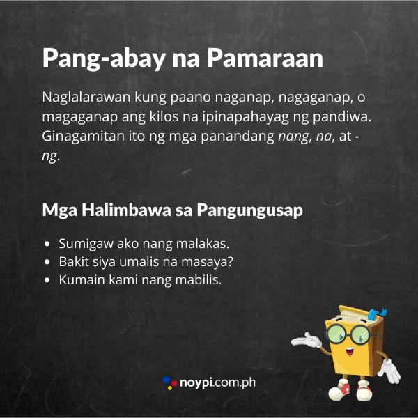 Pang-abay na Pamaraan Image
