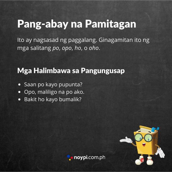 Pang-abay na Pamitagan Image