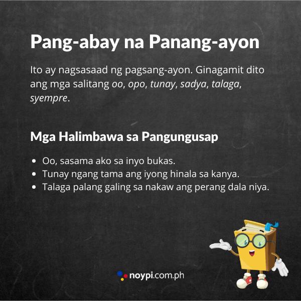 Pang-abay na Panang-ayon Image