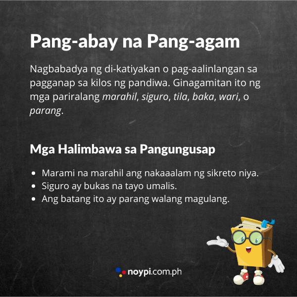 Pang-abay na Pang-agam Image