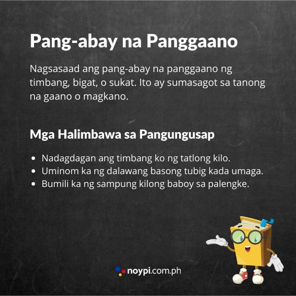 Pang-abay na Panggaano Image