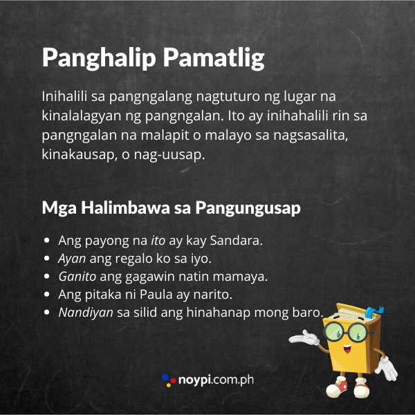 Panghalip Pamatlig Image