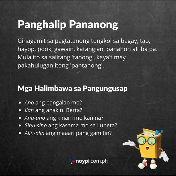 Panghalip Pananong Image