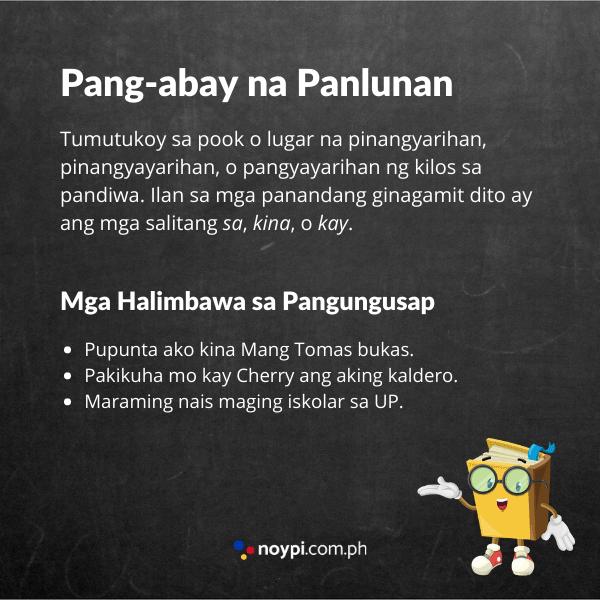Pang-abay na Panlunan Image