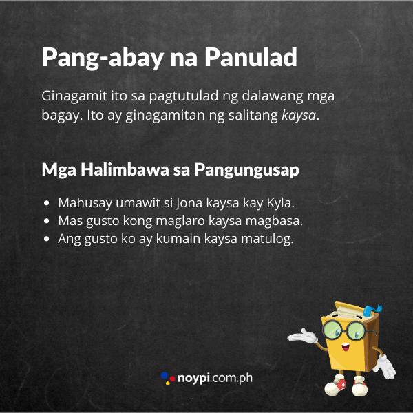 Pang-abay na Panulad Image