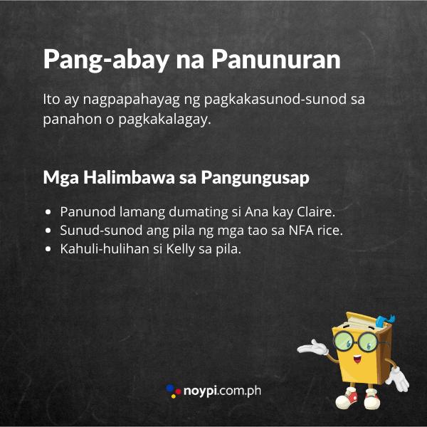 Pang-abay na Panunuran Image