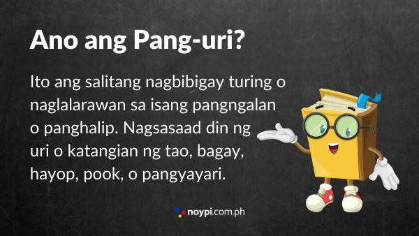 Ano ang Pang-uri? Image