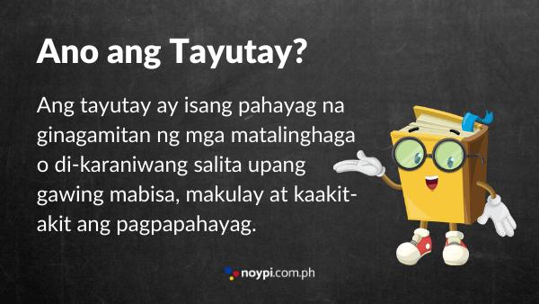 Ano ang Tayutay? Image