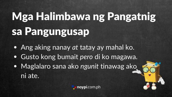 Mga Halimbawa ng Pangatnig sa Pangungusap Image