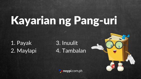Kayarian ng Pang-uri Image