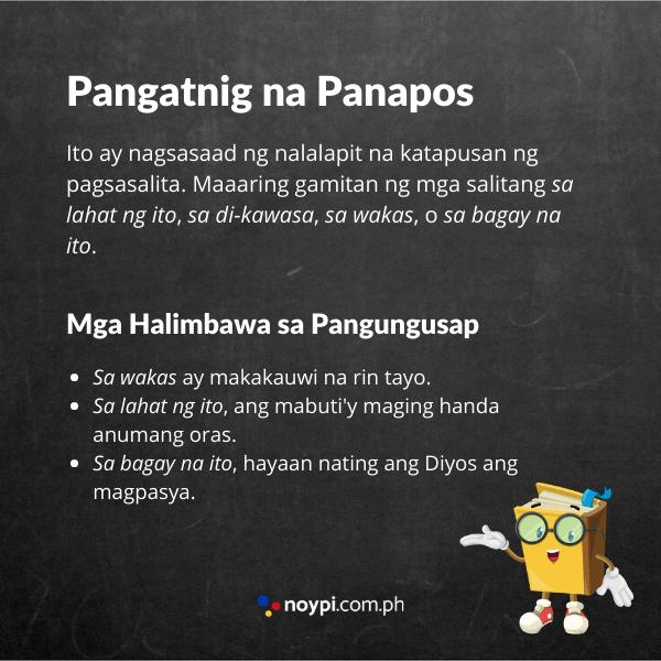 Pangatnig na Panapos Image
