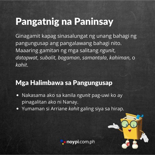 Pangatnig na Paninsay Image