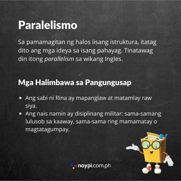 Paralelismo na Tayutay Image