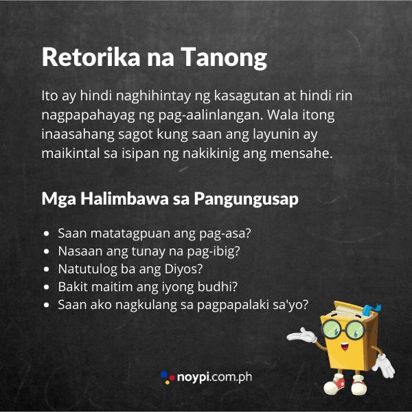 Retorika na Tanong na Tayutay Image