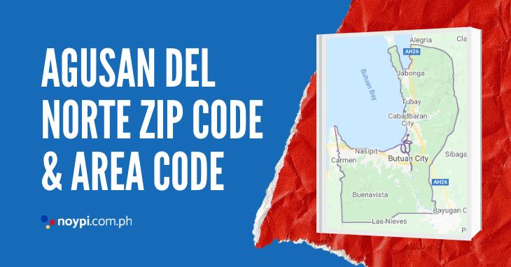 Agusan Del Norte Zip Code and Area Code