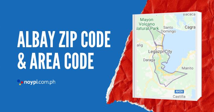 Albay Zip Code and Area Code