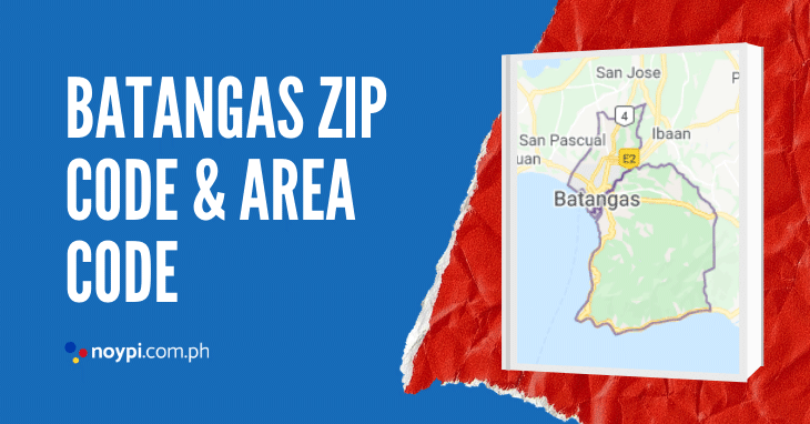 Batangas Zip Code and Area Code