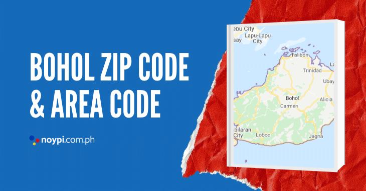 Bohol Zip Code and Area Code
