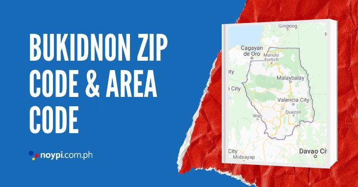 Bukidnon Zip Code and Area Code