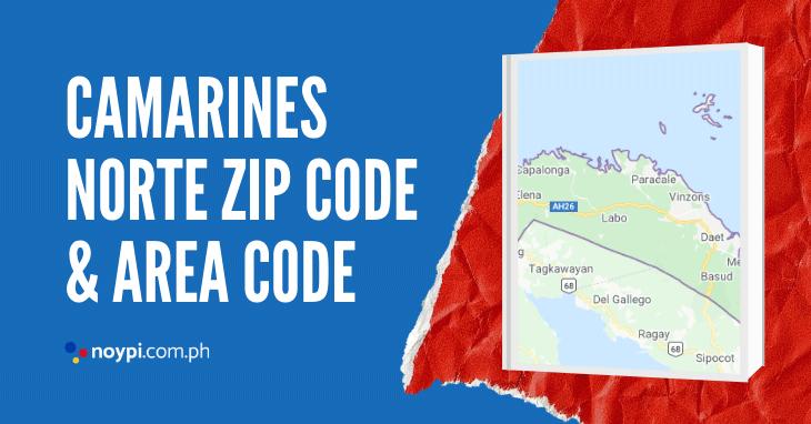 Camarines Norte Zip Code and Area Code