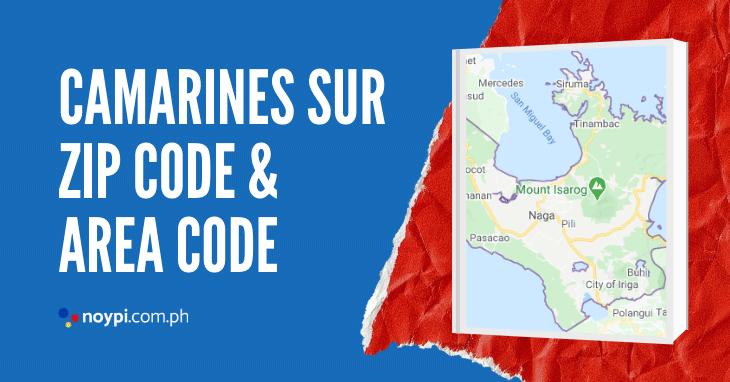 Camarines Sur Zip Code and Area Code