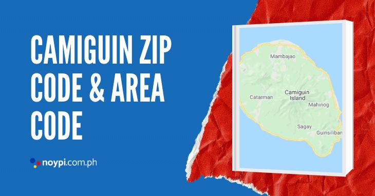 Camiguin Zip Code and Area Code