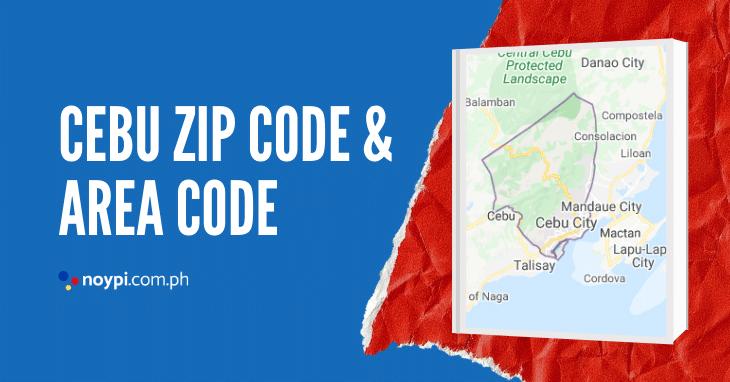 Cebu Zip Code and Area Code