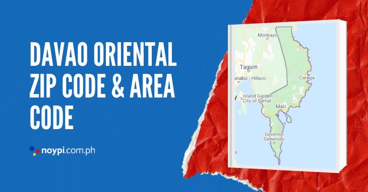 Davao Oriental Zip Code and Area Code