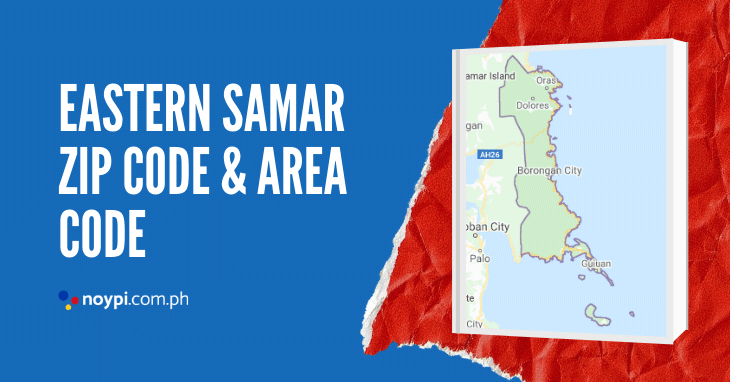 Eastern Samar Zip Code and Area Code