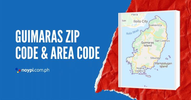 Guimaras Zip Code and Area Code
