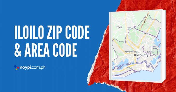 Iloilo Zip Code and Area Code