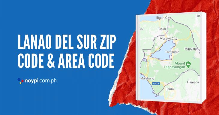Lanao Del Sur Zip Code and Area Code