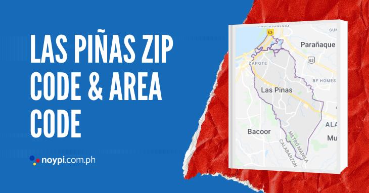Las Piñas Zip Code and Area Code