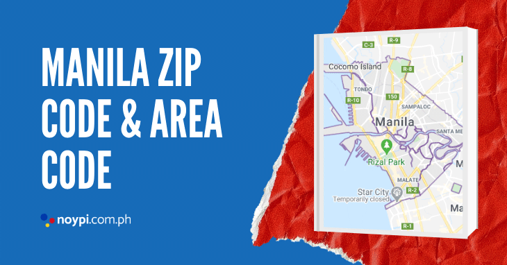 Manila Zip Code and Area Code
