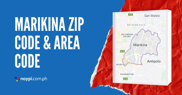 Marikina Zip Code and Area Code