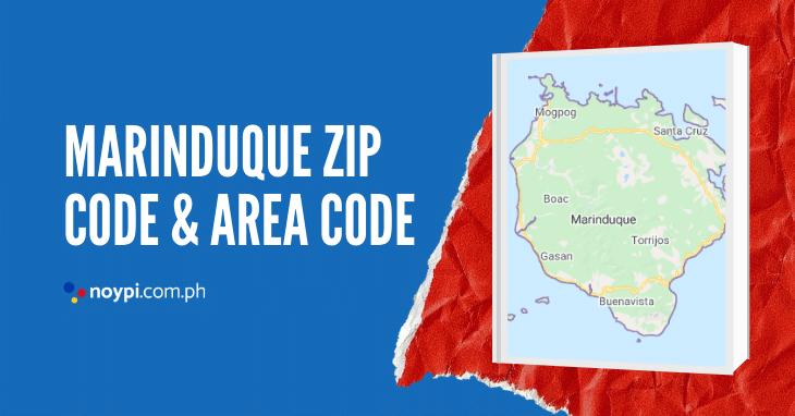Marinduque Zip Code and Area Code
