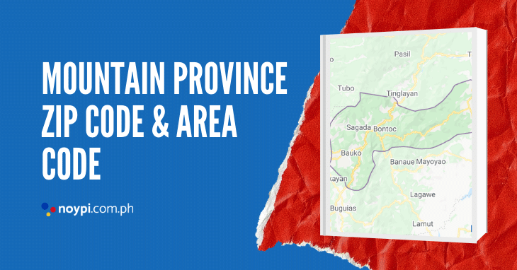 Mountain Province Zip Code and Area Code