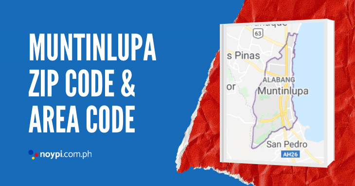 Muntinlupa Zip Code and Area Code