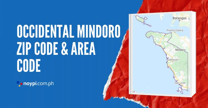 Occidental Mindoro Zip Code and Area Code