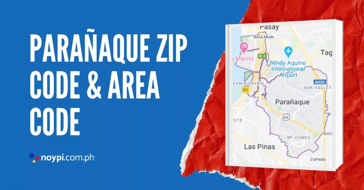 Parañaque Zip Code and Area Code