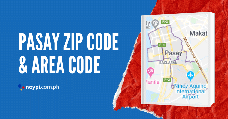 Pasay Zip Code and Area Code
