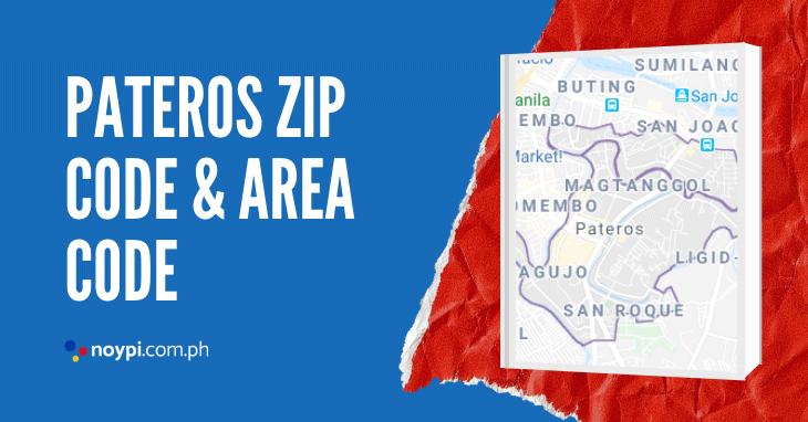Pateros Zip Code and Area Code