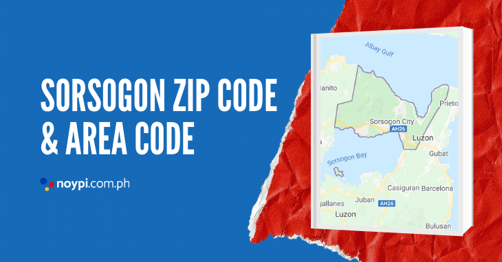 Sorsogon Zip Code and Area Code