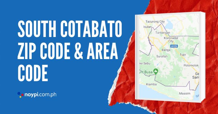 South Cotabato Zip Code and Area Code