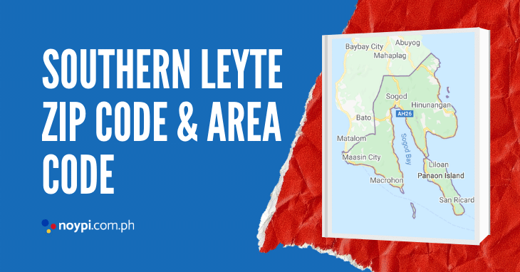 Southern Leyte Zip Code and Area Code