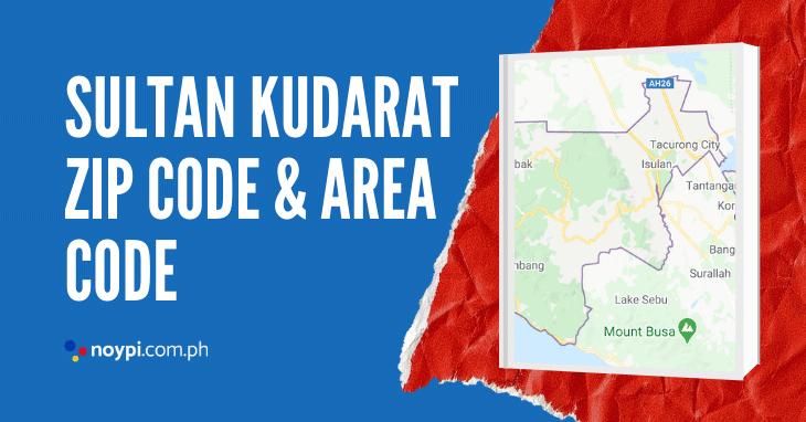 Sultan Kudarat Zip Code and Area Code